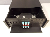 "4U 19"" Patch Panel, Accommodates 12 Adapter Plates"