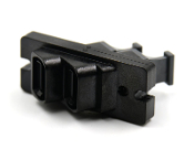 Ganged 1x2 Angled MTP Adapter