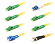 LC/APC Singlemode Fiber Optic Cables