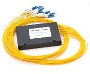 1x16 PLC Fiber Optic Splitter in ABS Box