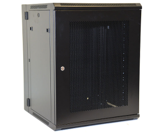 15U Wall Mount Enclosure - Mesh Door - 600mm X 450mm - DBL
