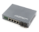 4 Port Fiber Switch 10/100/1000 RJ45 to 2 SFP Ports