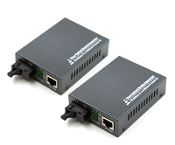 fiber optic network ethernet media converter