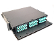 "2U 19"" Rack Mount Fiber Optic Patch Panel, LGX"