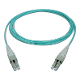 1M LC Uniboot Duplex Plenum Jacket Fiber Optic Patch Cable
