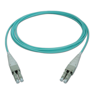 3M LC Uniboot Duplex Plenum Jacket Fiber Optic Patch Cable
