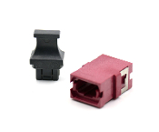 Magenta Reduced Flange SC Footprint MTP Adapter w/ 1 Dust Cap
