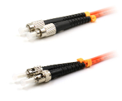 ST TO FC MULTIMODE 62.5 OM1 FIBER OPTIC PATCH CABLE