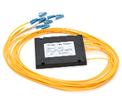 1x8 PLC Fiber Optic Splitter in ABS Box