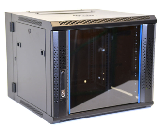 9U Wall Mount Enclosure - Vented Border - 600mm X 450mm - DBL