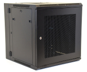 12U Wall Mount Enclosure - Mesh Door - 600mm X 450mm - DBL