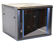 9U Wall Mount Enclosure - Vented Border - 600mm X 600mm - SGL