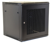 12U Wall Mount Enclosure - Mesh Door - 600mm X 450mm - SGL