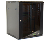 15U Wall Mount Enclosure - Glazed Door - 600mm X 450mm - SGL