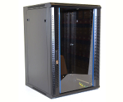 18U Wall Mount Enclosure - Vented Border - 600mm X 450mm - SGL