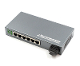 6 Port Fiber Switch 10/100 RJ45 to 1 Fiber Port, Multimode 2km