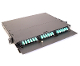 "1U 19"" Rack Mount Fiber Optic Patch Panel, LGX"